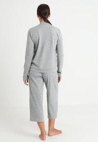 Hanro - BALANCE JACKE - Pyjamashirt - balance melange - 2