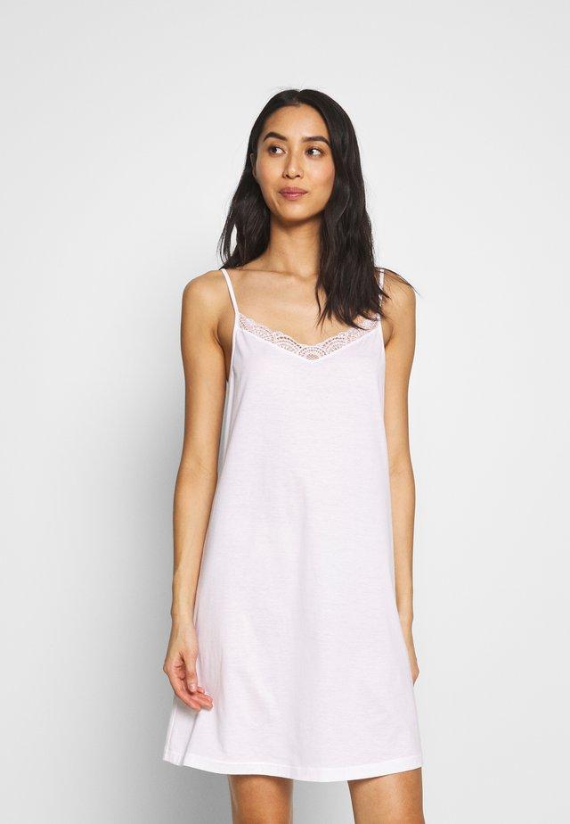 MOYA SPAGHETTIDRESS - Noční košile - white