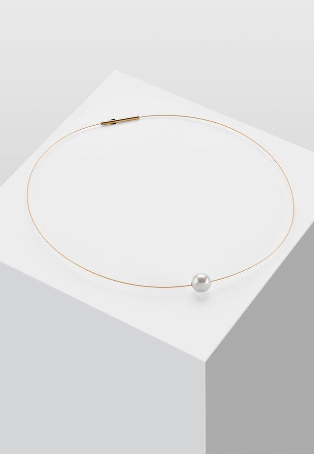 Halsband - weiß