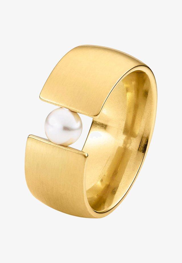 MIT SWAROVSKI PERLE - Ring - gold-coloured