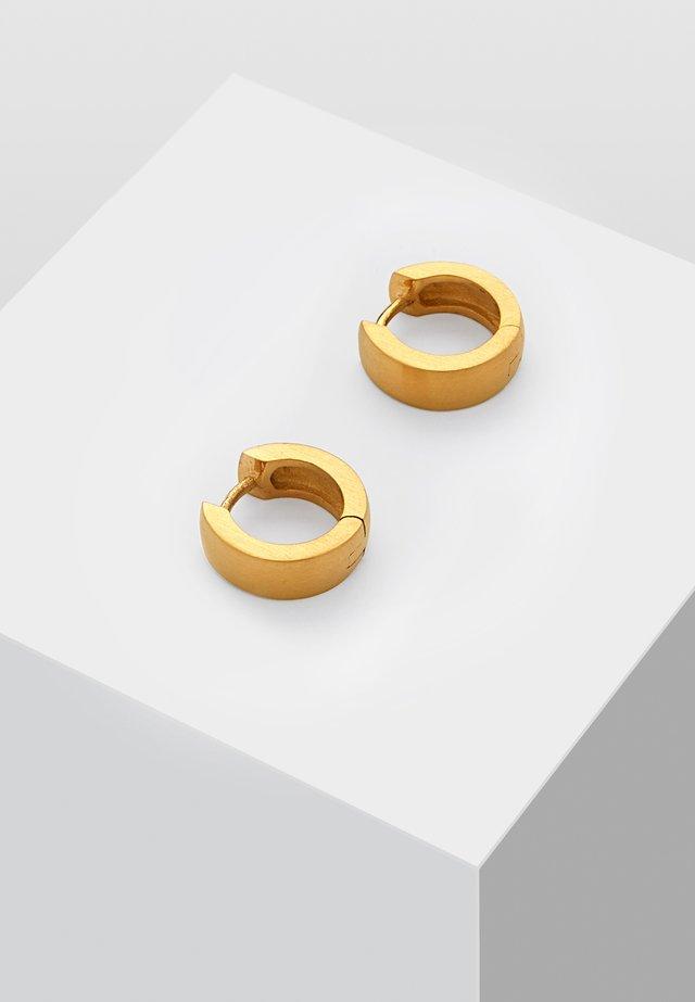 OHRCREOLE MIT CLIP - Kolczyki - gold-coloured
