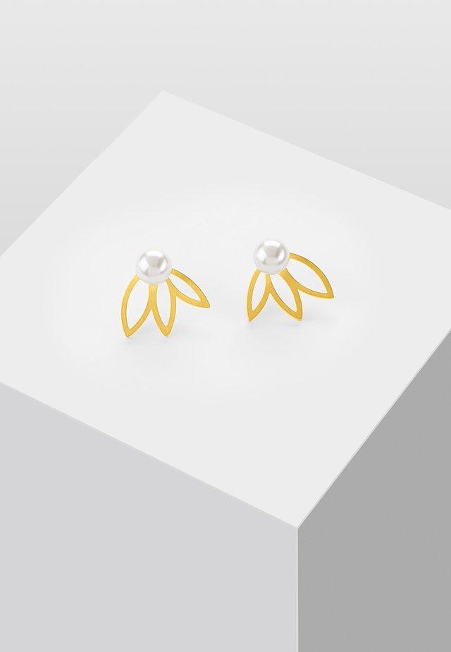 MIT PERLE - Kolczyki - gold-coloured