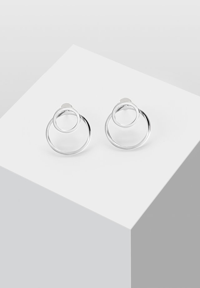 EAR JACKET 2 -IN -1 - Örhänge - silver-coloured