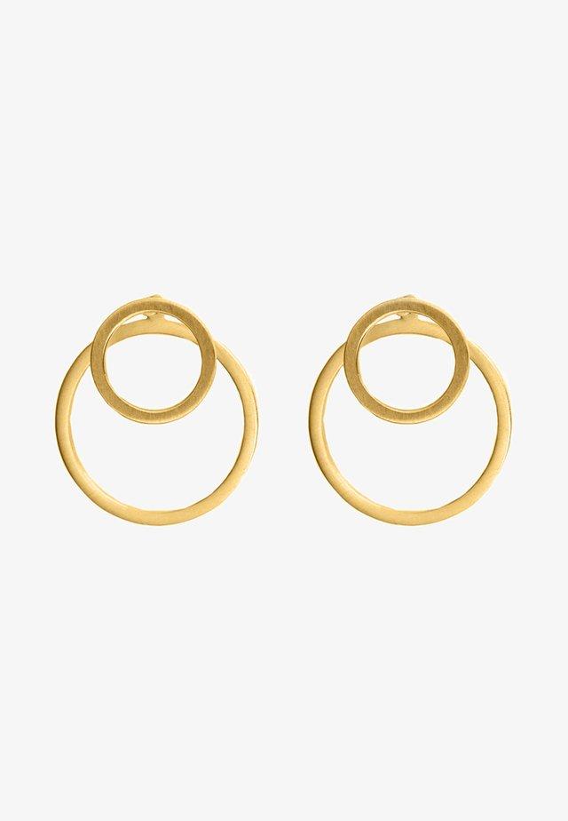 EAR JACKET 2 -IN -1 - Øreringe - gold-coloured