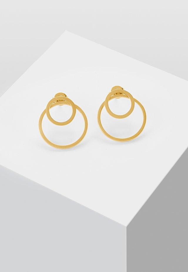 EAR JACKET 2 -IN -1 - Örhänge - gold-coloured