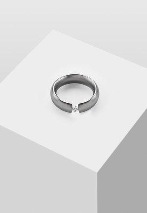 MIT STEIN - Ring - silver-coloured