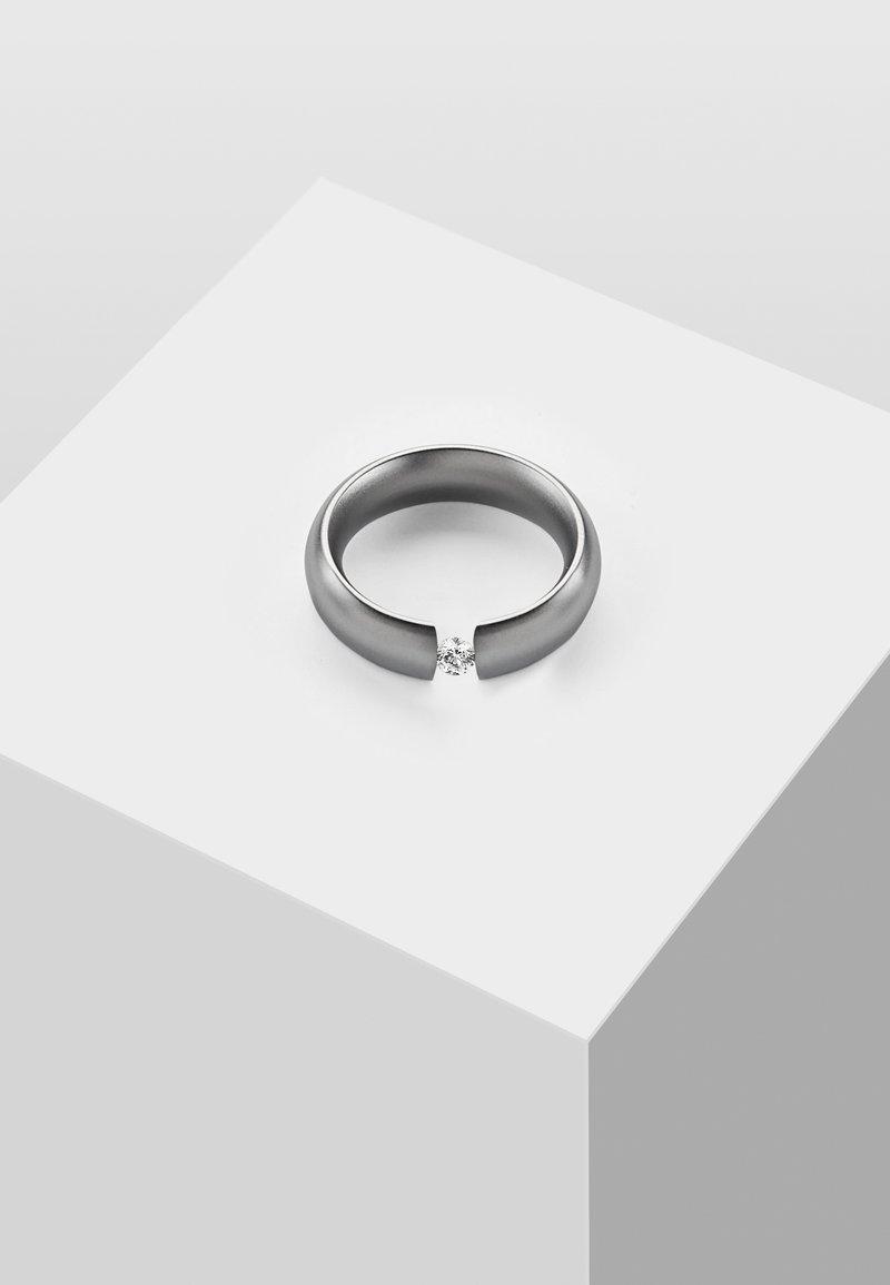 Heideman - MIT STEIN - Sormus - silver-coloured