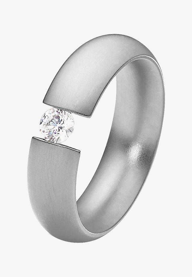 MIT STEIN - Ringar - silver-coloured