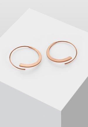 KREIS - Boucles d'oreilles - rose gold-coloured