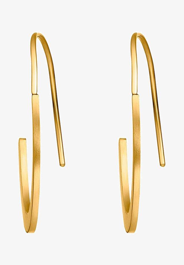 KREIS - Øreringe - gold-coloured