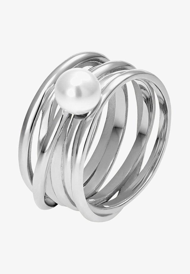 MIT PERLE - Ringar - white