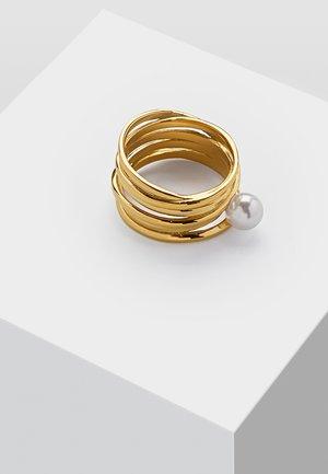 MIT PERLE - Sormus - gold-coloured