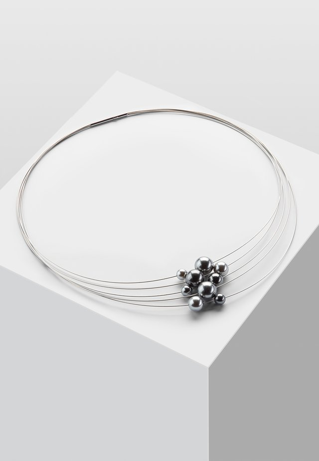 Necklace - dark grey