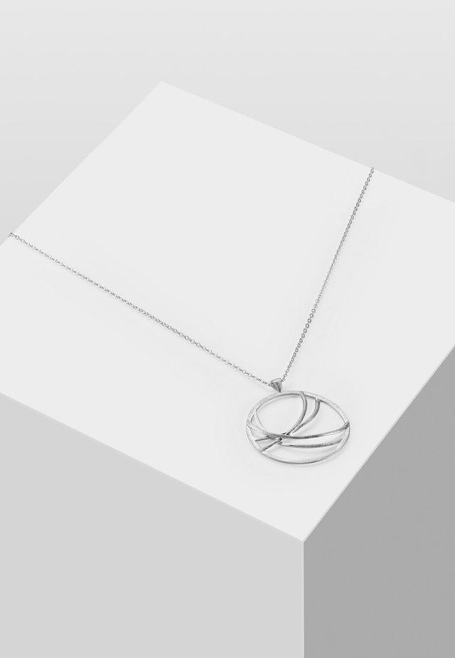 MIT DESIGN ELEMENTEN - Naszyjnik - silver-coloured