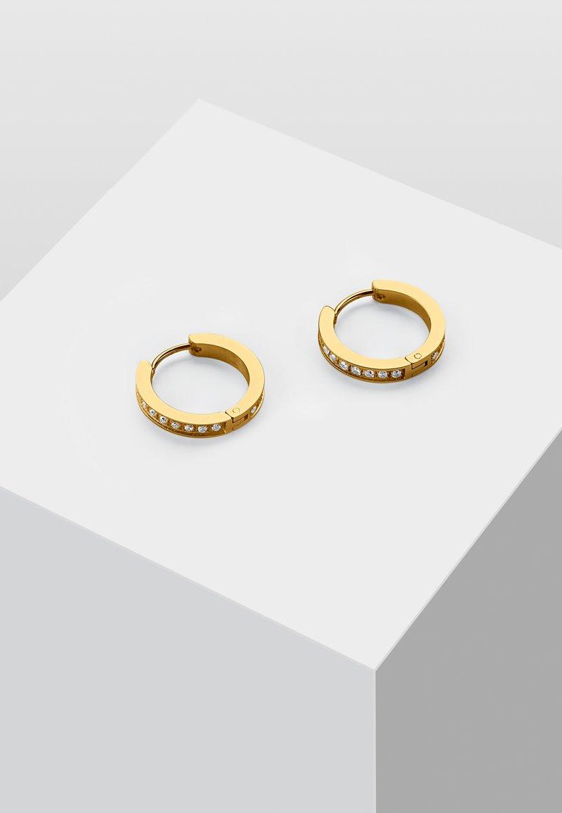 Heideman - MIT ZIRKONIA STEINEN - Orecchini - gold-coloured