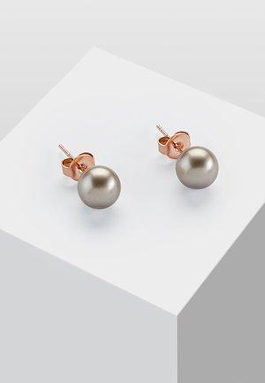 MIT PERLE - Boucles d'oreilles - platinum