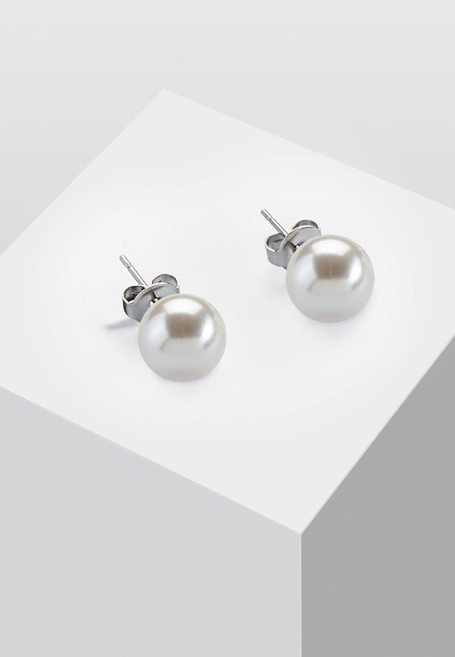 MIT PERLE - Boucles d'oreilles - white
