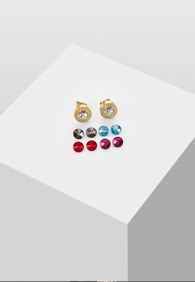 MIT STEIN - Kolczyki - gold