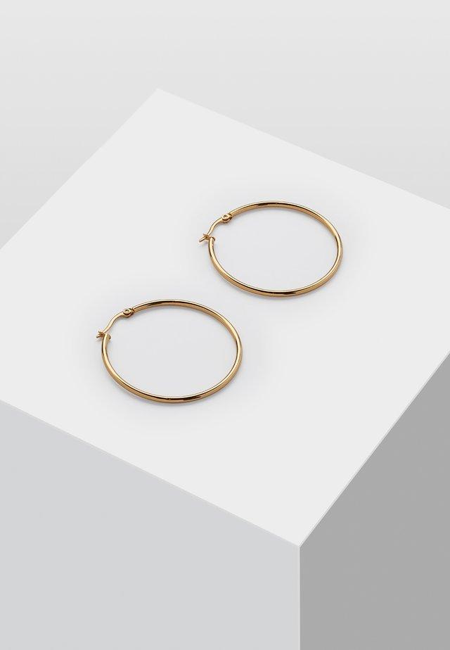 CREOLE MIT CLIP - Kolczyki - gold-coloured