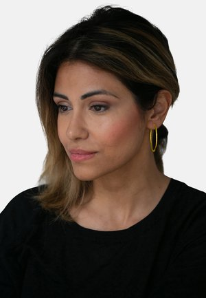CREOLE MIT CLIP - Earrings - gold-coloured