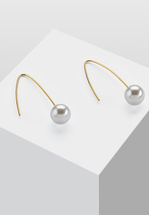 MIT PERLE WEISS - Earrings - white