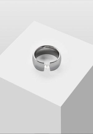 MIT PERLE - Anello - silver