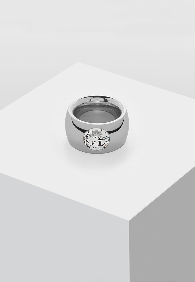 MIT SWAROVSKI STEIN - Ring - silver-coloured