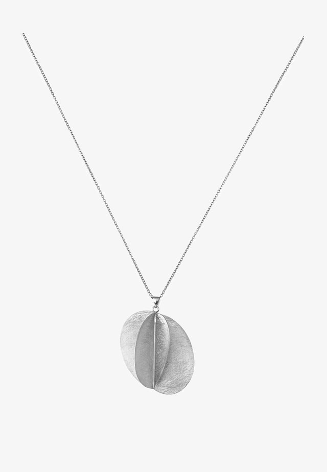 NECKLACE - Halsband - silver-coloured