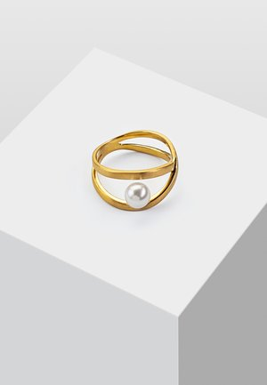 MIT PERLE - Ring - gold coloured