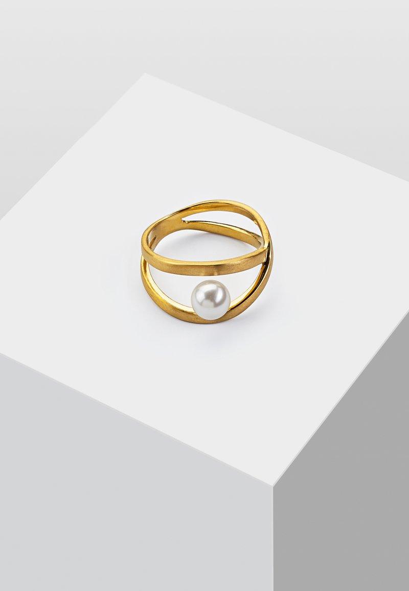 Heideman - MIT PERLE - Anello - gold coloured