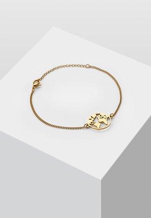 WELTKUGEL GLOBUS - Bracelet - gold-coloured