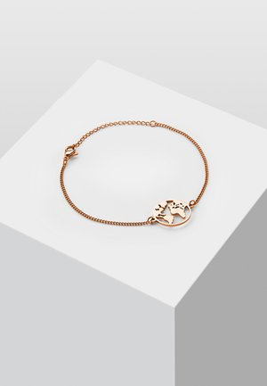 WELTKUGEL GLOBUS - Armband - rose gold-coloured