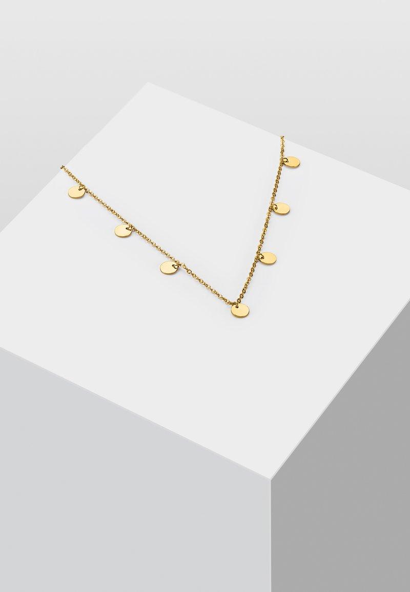 Heideman - KREIS PLÄTTCHEN GEO - Necklace - gold-coloured
