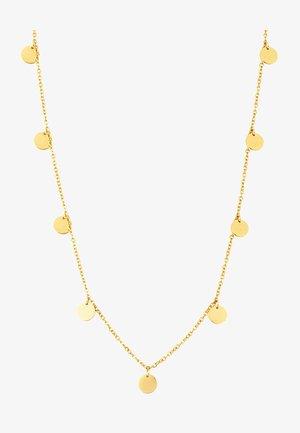 KREIS PLÄTTCHEN GEO - Necklace - gold-coloured