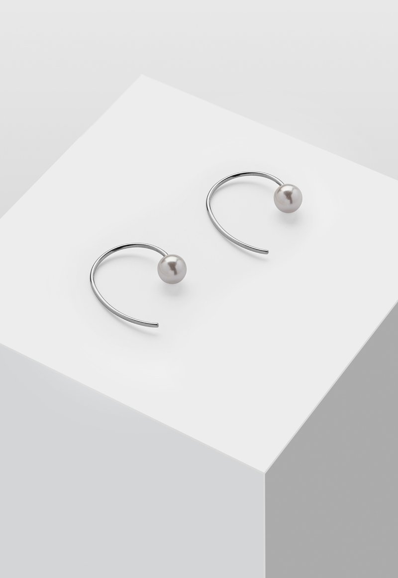 Heideman - MIT PERLE - Korvakorut - silver-coloured