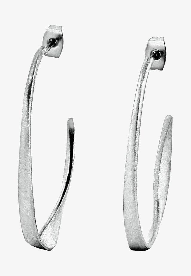 FLEXI  - Øreringe - silver-coloured
