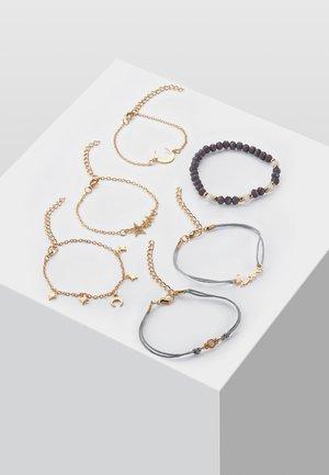 6 PacK - Bracelet - gold-coloured