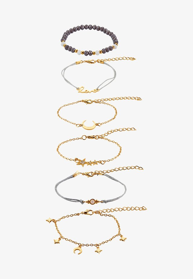 6 PacK - Armbånd - gold-coloured