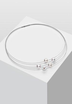 MIT PERLE - Necklace - weiß
