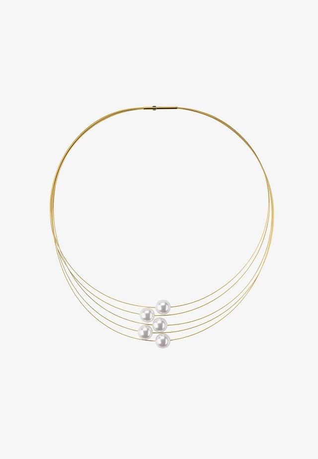 MIT PERLE - Halsband - gold