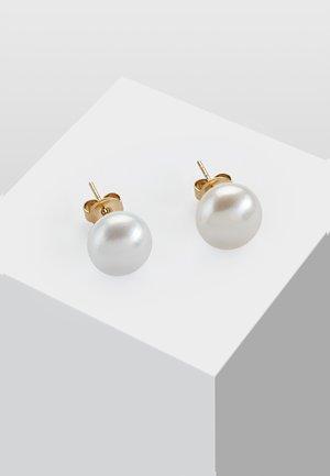 HOCHZEIT MIT PERLE - Earrings - white