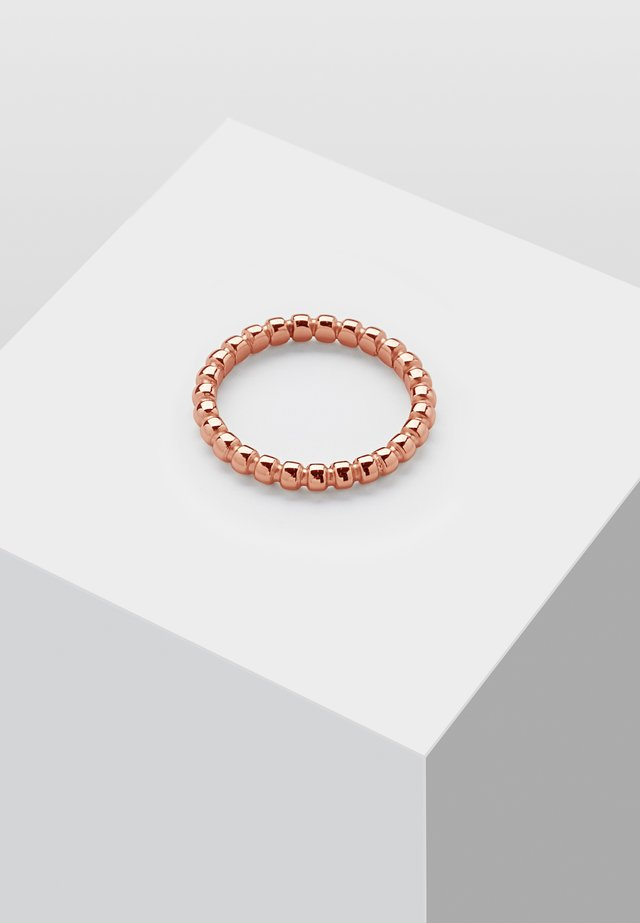 Pierścionek - rose gold-coloured