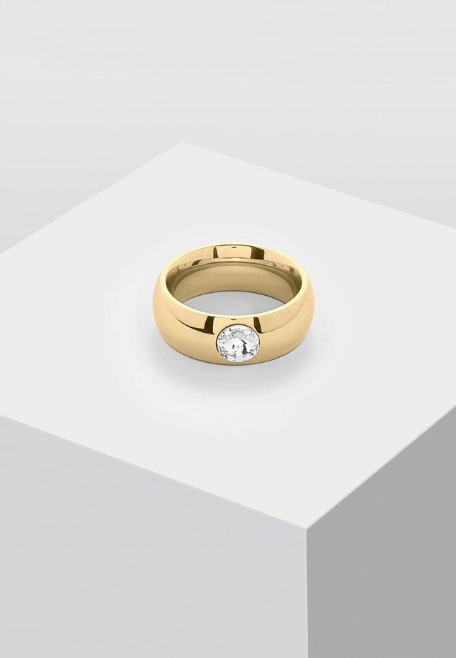 MIT SWAROVSKI STEIN  - Ring - gold-coloured