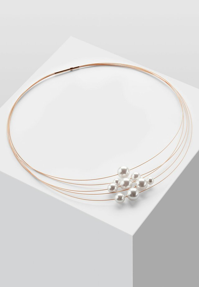 KETTE MIT PERLE  - Necklace - rose gold-coloured