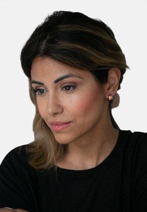 Earrings - rose gold-coloured