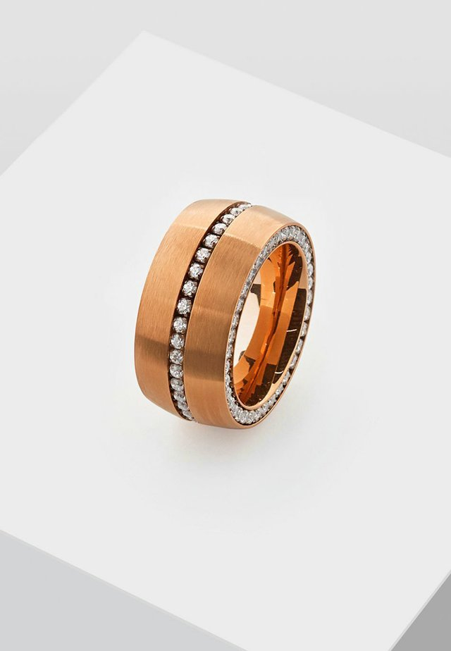 DUCTUS - Ring - rose gold-coloured