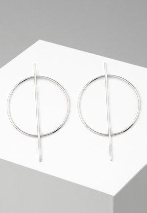ICTUM - Earrings - silver-coloured