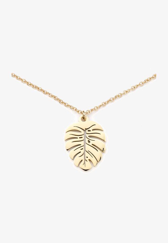 FOLIUM  - Necklace - gold-coloured
