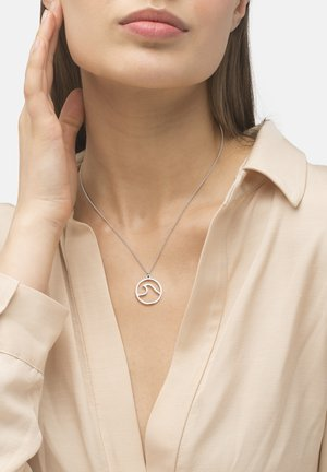 MONTIS  - Necklace - silver-colored polished