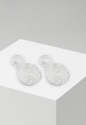 CLARI - Earrings - silver-coloured